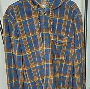 Billabong a/div. hooded flannel